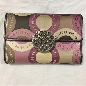 Coach est 1941 Women's  Leather Wallet